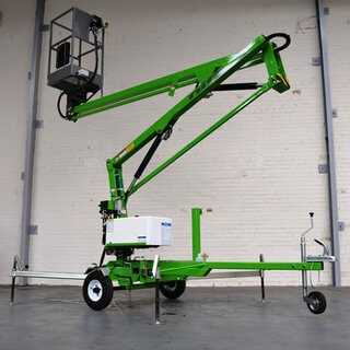 Nifty 90 Boom Lift / Cherry Picker - Trailer Mounted (9.5m)